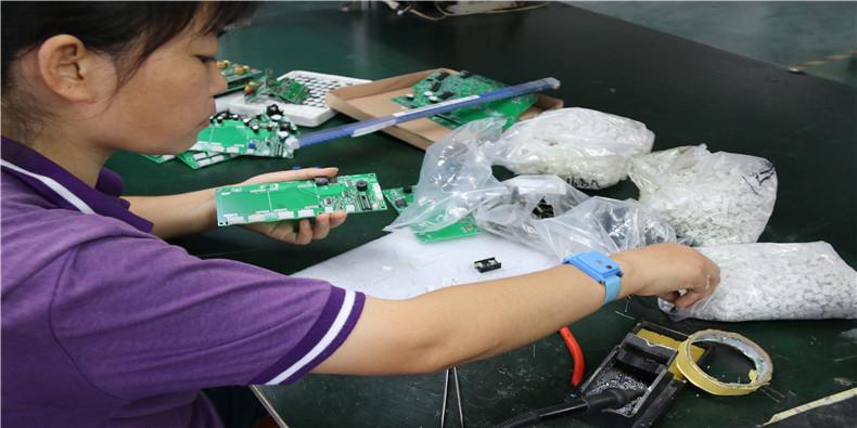 电子生产作业
